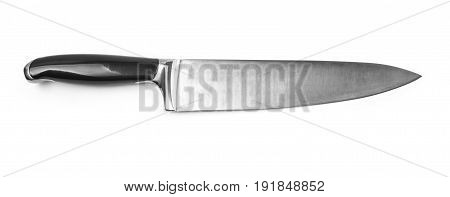 yhe Kitchen knife isolated with clipping path
