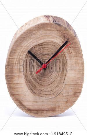 minute, dial, time wooden clock, tid, wallclock