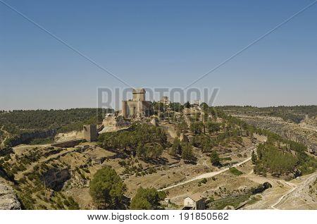Castle Of Alarcon, Cuenca, Castilla La Mancha, Spain