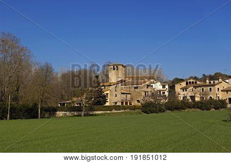 Santa Llogaia De Terri, Pla De Le Estany , Girona Province, Catalonia, Spain