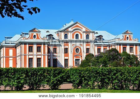 Kikin's home - the former home of Admiral Alexander Kikin associate of Peter 1. Currently the building houses a music school.