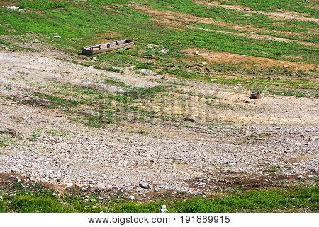 Dam Lake in Serbia, Europe