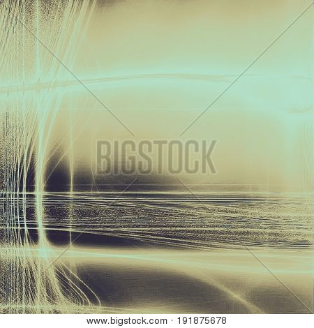 Colorful designed grunge background. With different color patterns: yellow (beige); brown; gray; blue; black; cyan
