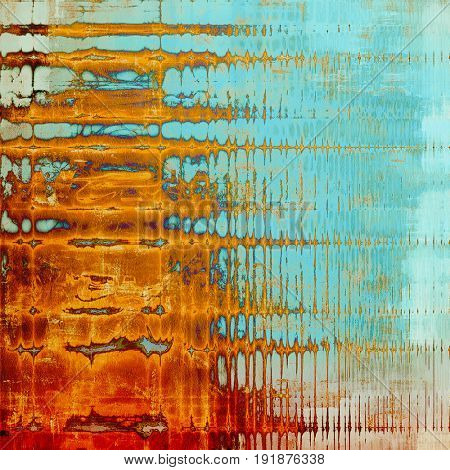 Grunge texture. With different color patterns: yellow (beige); brown; blue; red (orange); cyan