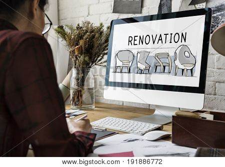 Renovation Design New Product Development Concept Sketch