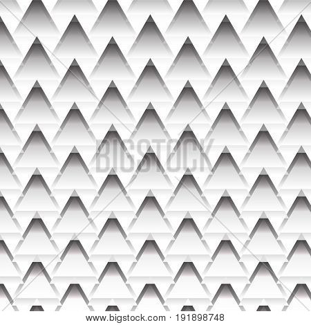 Black and white zig zag line texture background vector