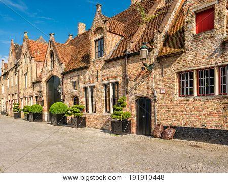 Bruges (Brugge) cityscape, Flanders, Belgium