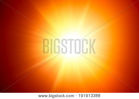 sunlight lighting effect flash light background graphic illustration.