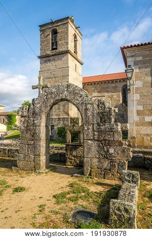 Ruins of Paco dos Condes and Matriz Church in Barcelos - Portugal
