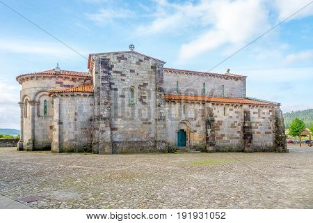 View at the Old Roman church in Rates - Portugal
