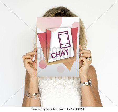Communication Connection Chat Message Modern Technology Concept