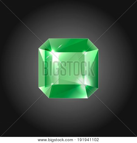 Topaz gem for logo designs or web elements.