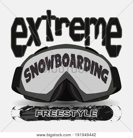 T-shirt snowboarding extreme sports athletics Typography Fashion college sport design the logo graphic print image design fashion Typography original design clothing