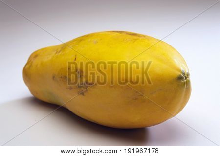 close up of papaya