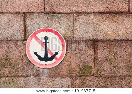 Prohibiting sign