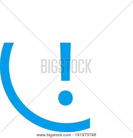 exclamation mark icon on white background. exclamation mark sign.