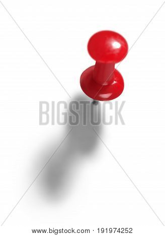 Red push pin pushpin background macro copy
