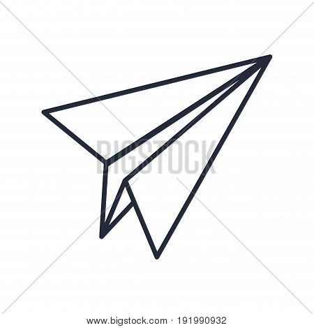 paper airplane creativity imagination free vector illustration
