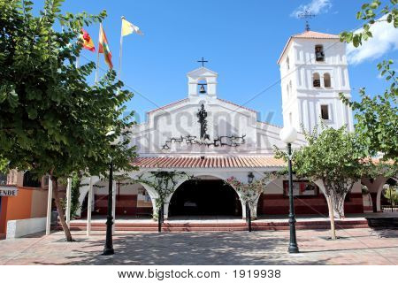 Spanish Church On The Costa Del Sol