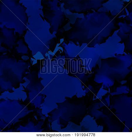 Dark Blue Watercolor Texture Background. Sublime Abstract Dark Blue Watercolor Texture Pattern. Expr