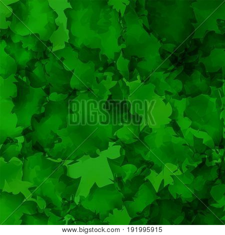 Dark Green Watercolor Texture Background. Interesting Abstract Dark Green Watercolor Texture Pattern