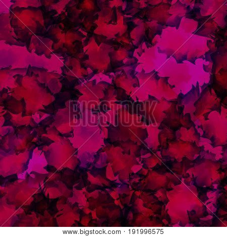 Dark Pink Watercolor Texture Background. Attractive Abstract Dark Pink Watercolor Texture Pattern. E