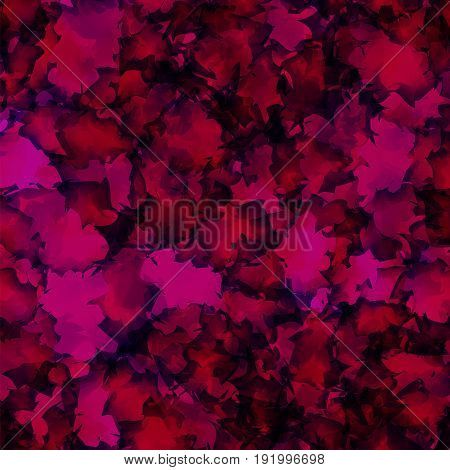 Dark Pink Watercolor Texture Background. Neat Abstract Dark Pink Watercolor Texture Pattern. Express