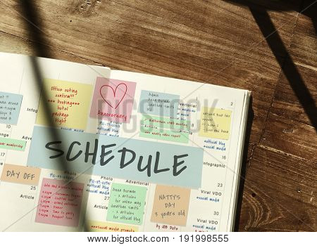 Schedule Memo Note Post Appointment Meeting Reminder
