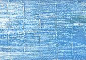 Hand-drawn abstract watercolor. Used colors: Aero Celestial blue Little boy blue Cyan-blue azure Carolina blue Blue-gray Steel blue Diamond Baby blue eyes poster