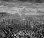 Slopes of Bryce canyon. Utah state. USA poster
