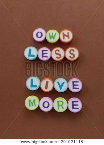 Own Less, live more