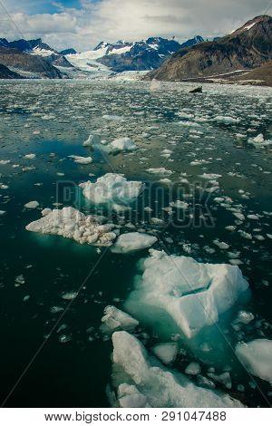 Columbia Glacier In Prince William Sound, Alaska