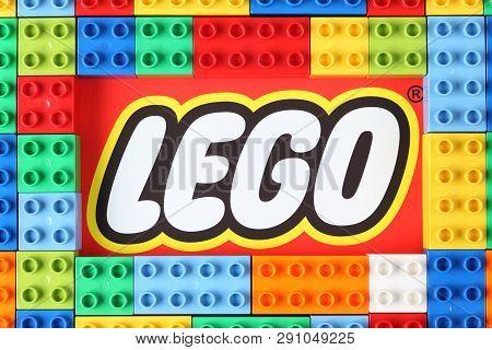 Tambov, Russian Federation - December 16, 2012 Lego Duplo Blocks On Lego Brand.  Lego (trademarked I