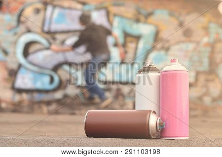 The Young Man Spoils The Citys Property, Illegally Drawing Vari