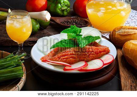 Raw Quibe food