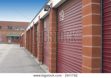 Mini Storage Unit Doors