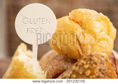 Bread And Buns Without Any Gluten For People With Allergy
