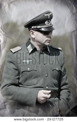 German general. WW 2 reenacting