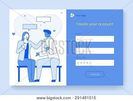 Modern Cartoon Flat Vector & Photo (Free Trial) | Bigstock