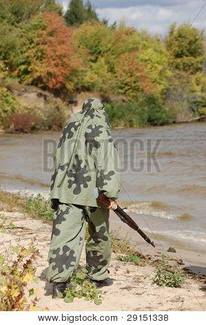 Soviet sniper of WW2 poster