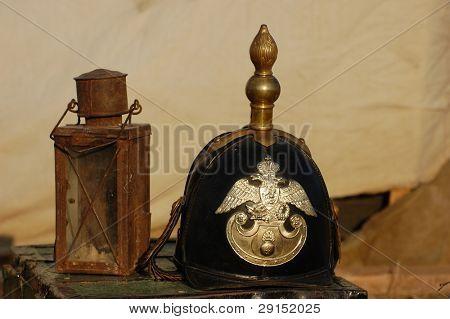 Russian army equipment of Crimean War time
