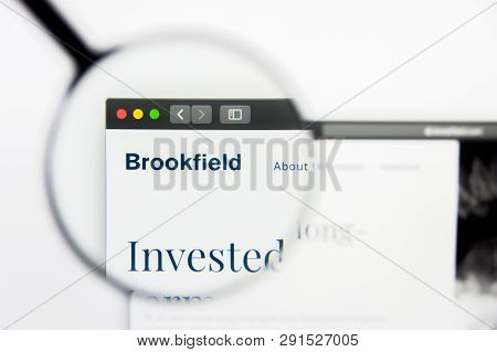 Los Angeles, California, Usa - 25 March 2019: Illustrative Editorial Of Brookfield Asset Management