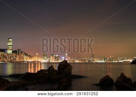 The Fishing Valley At Sunset , Lei Yue Mun