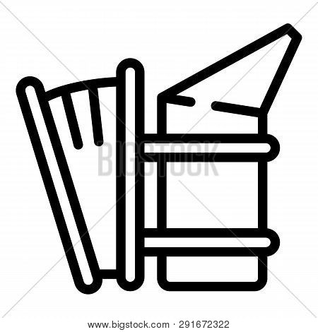 Apiary Smoker Icon. Outline Apiary Smoker Vector Icon For Web Design Isolated On White Background