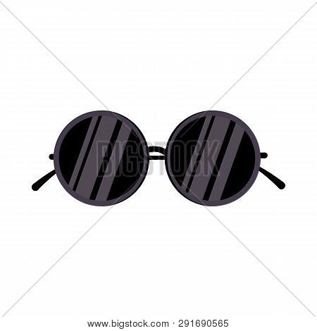 708769f7ec3c Sunglasses. Eyewear, Circle, Eyes Protection. Vector Illustration Can Be  Used For Topics