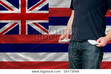 Recession Impact On Young Man And Society In American State Of Hawaii