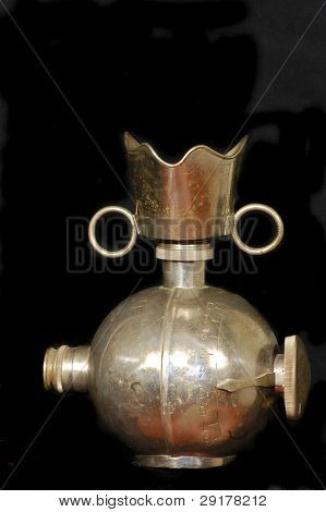 Soviet evaporator for aether and mask for total anesthesia.WW2 time.Used for military surgery