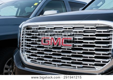 Gmc Automobile Grille And Trademark Logo