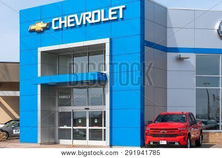 Chevrolet Automobile Dealership And Trademark Logo
