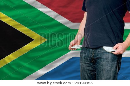 Recession Impact On Young Man And Society In South Africa